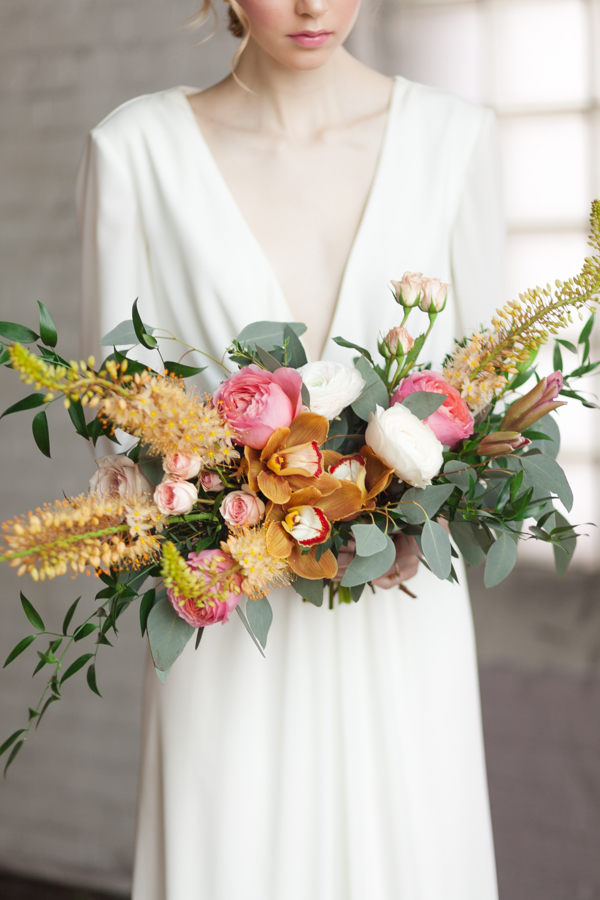 Cotton Factory Wedding Bouquet