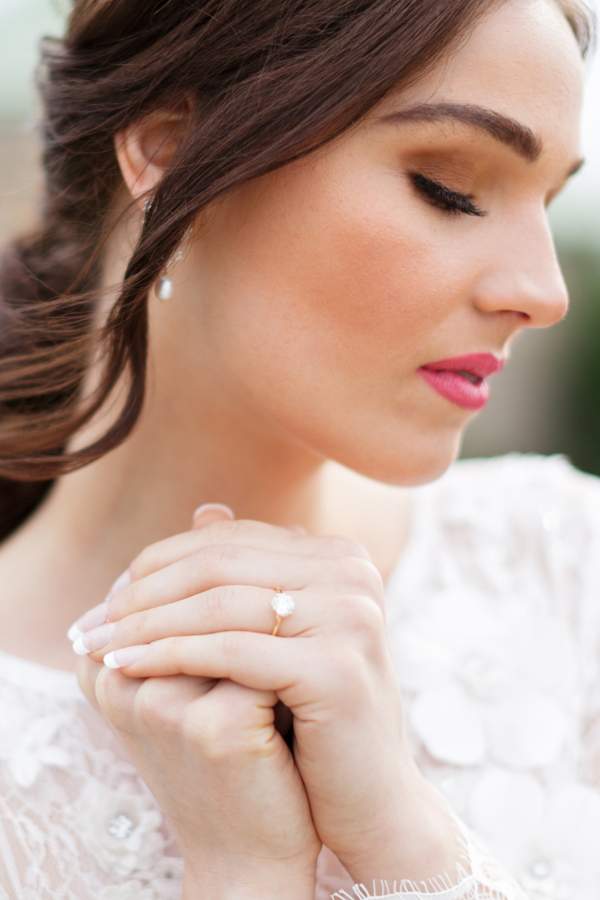 Chateau de Charmes Niagara Wedding Makeup