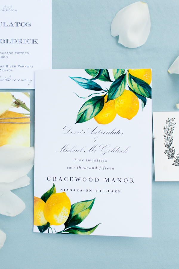 Kurtz Orchards Invitation Lemon