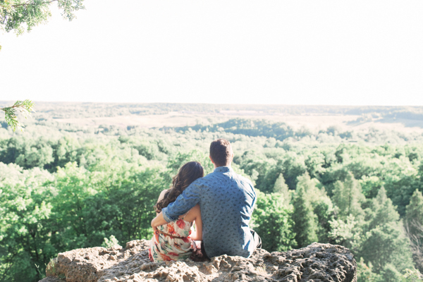 Rattlesnake Point Cliffs Engagement
