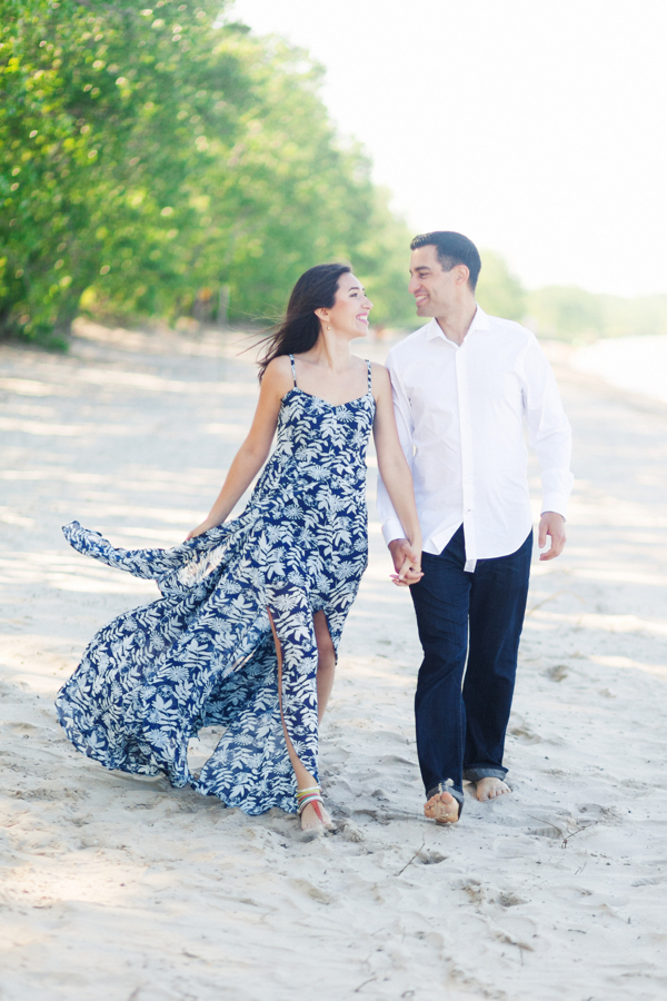 Sandbanks Beach Engagement Photography