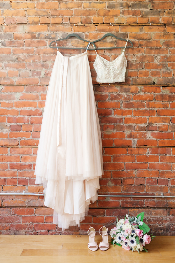 Spice Factory Wedding BHLDN Dress