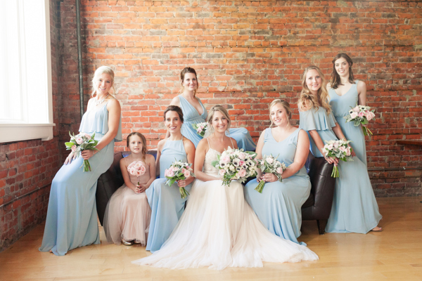 Spice Factory Wedding Bridesmaids