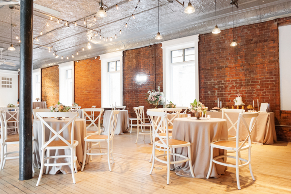 Spice Factory Wedding Reception