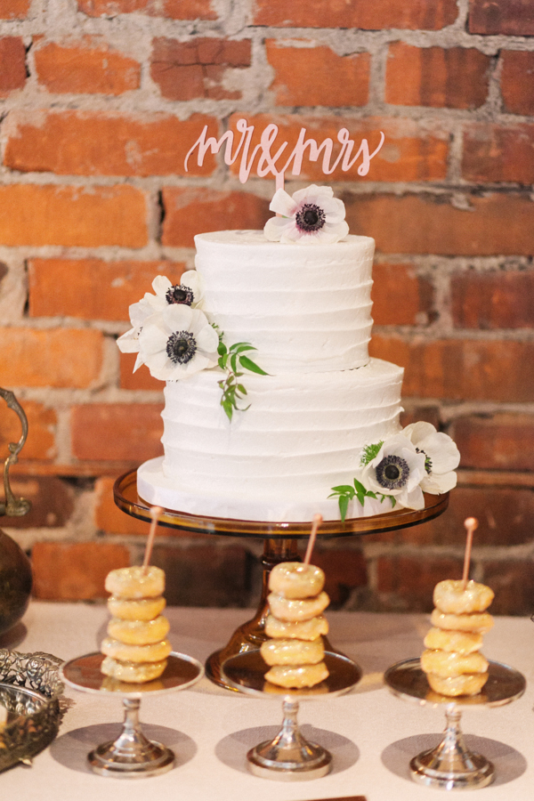 Spice Factory Wedding Cake