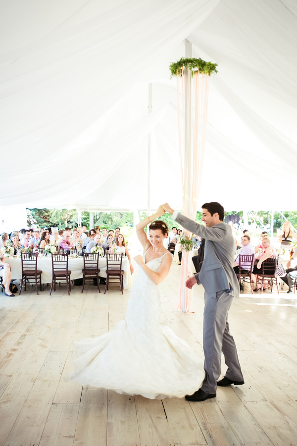 Kurtz Orchards Reception First Dance Wedding Photographer