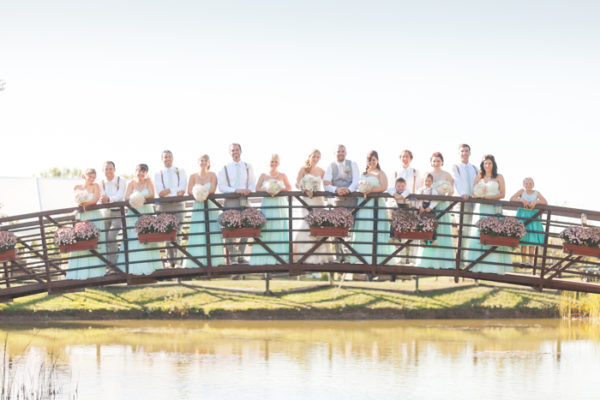 Kurtz Orchards Bridge Wedding Party