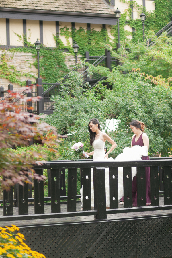 Old Mill Toronto Wedding First Look