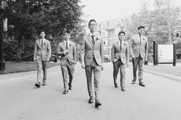 Old Mill Toronto Wedding Groomsmen