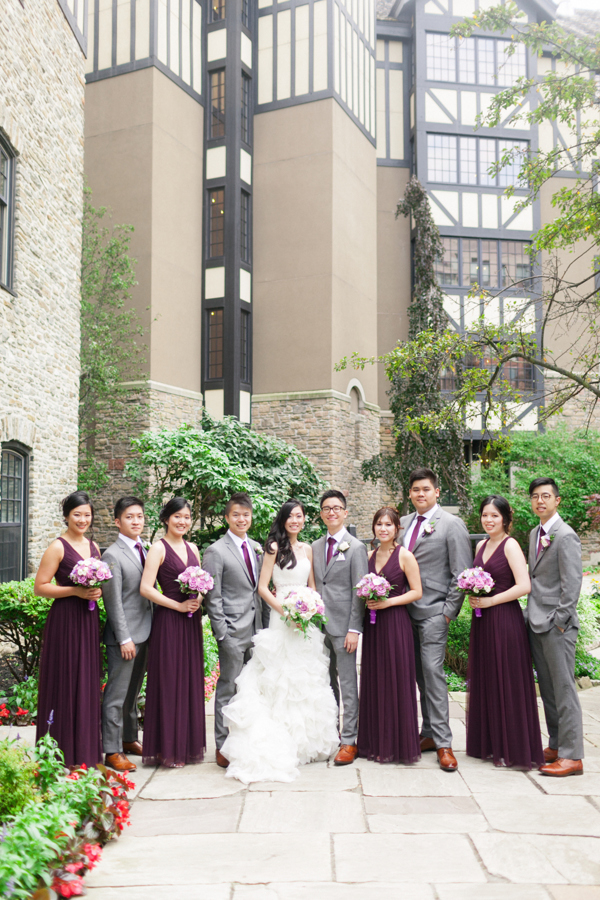 Old Mill Toronto Wedding Party