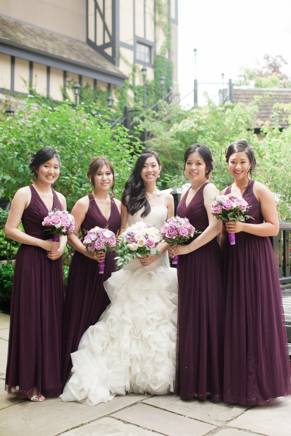 Old Mill Toronto Wedding Bridesmaids