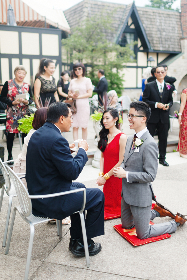 Old Mill Toronto Wedding Tea Ceremony