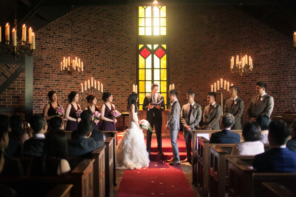 Old Mill Toronto Wedding Chapel Ceremony